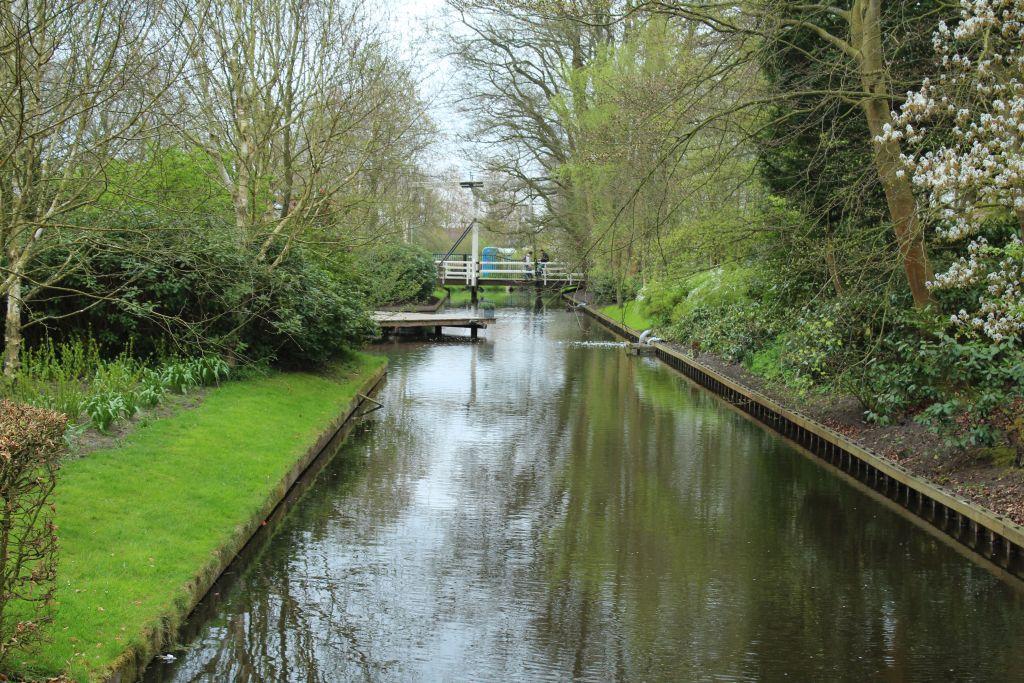 Channel at Keukenhof's garden