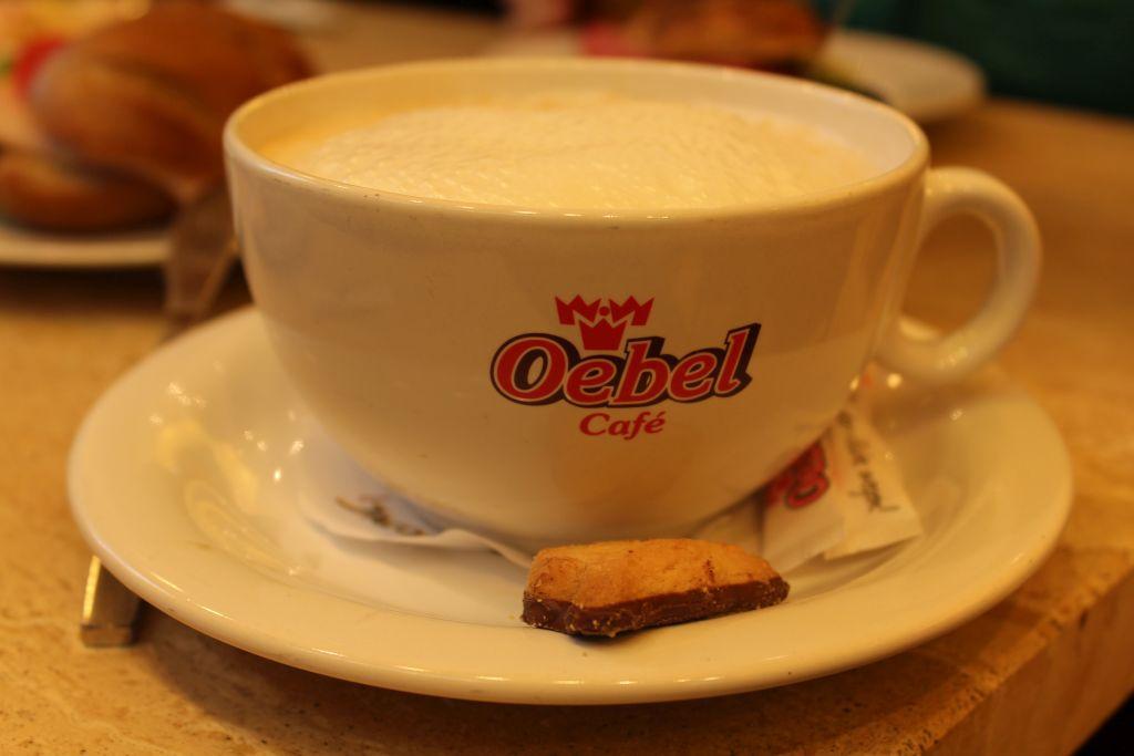 Coffee at Oebel Bäckerei