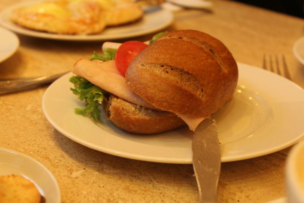 Sandwich at Oebel Bäckerei