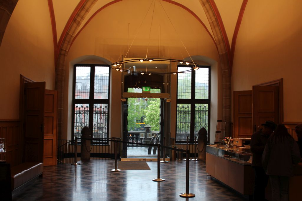 Lobby at Aachen Town Hall