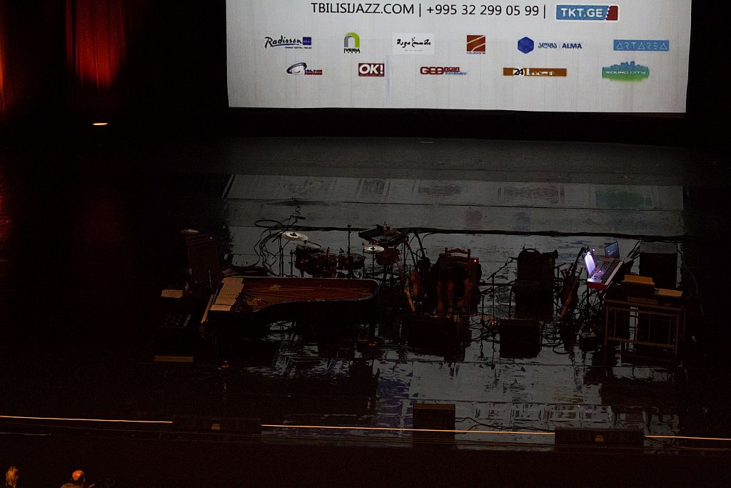 Stage is ready for Diana Krall at Tbilisi Jazz Festival 2015