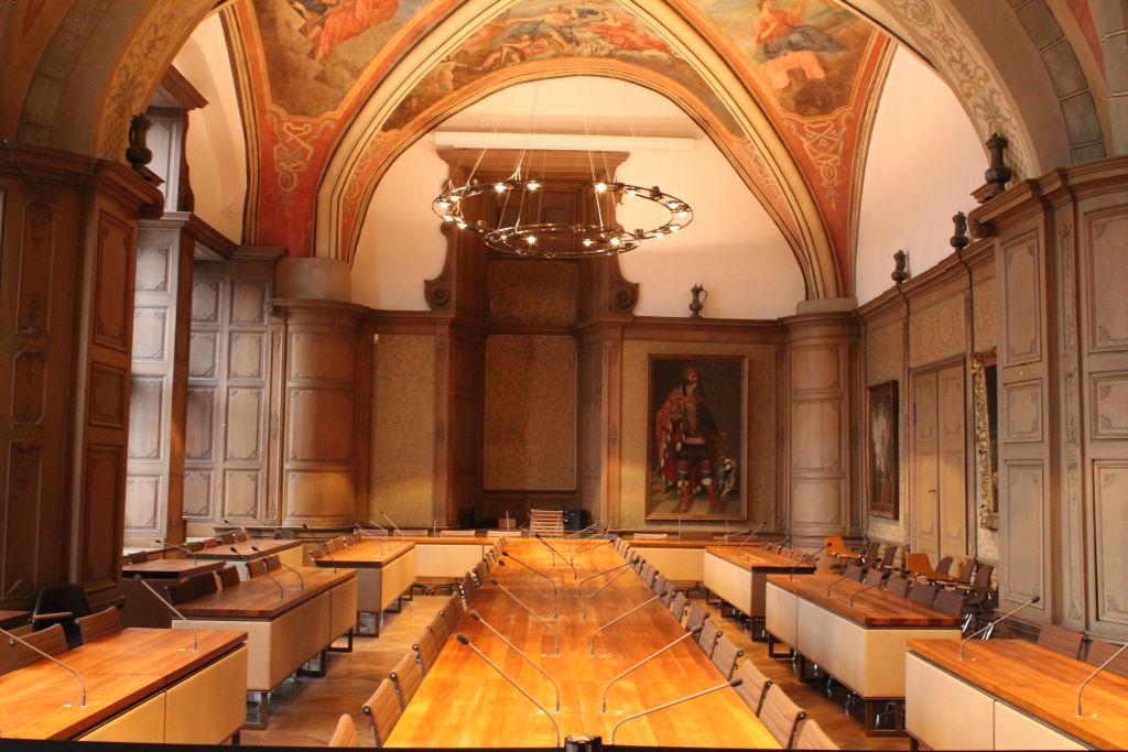 Modern day assembly hall