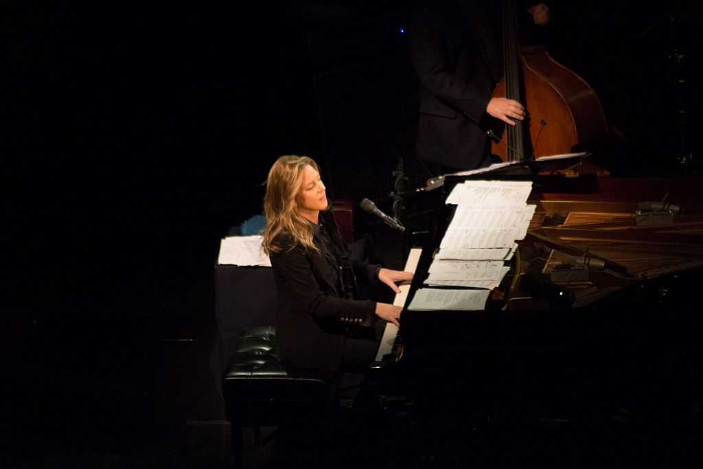Diana Krall at Piano during Tbilisi Jazz Festival