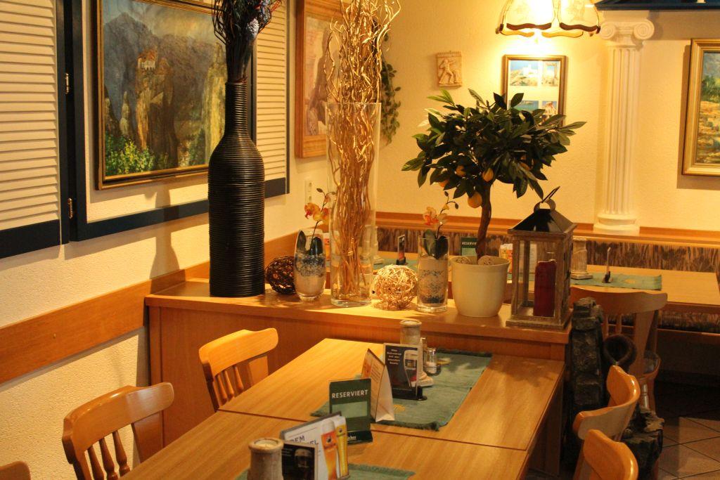 Interior at Akropolis Linden restaurant