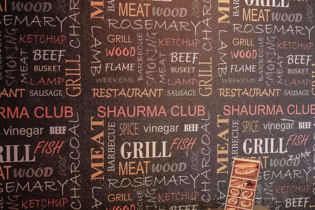 Interior at Shaurma Club in Tbilisi
