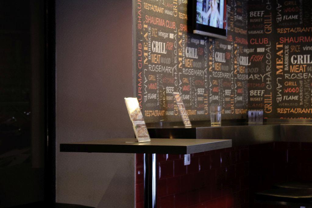 Interior at Shaurma club