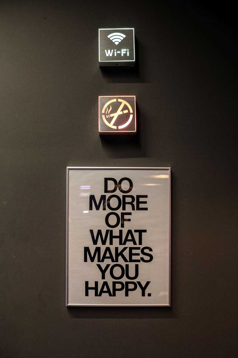 Do more what makes you happy