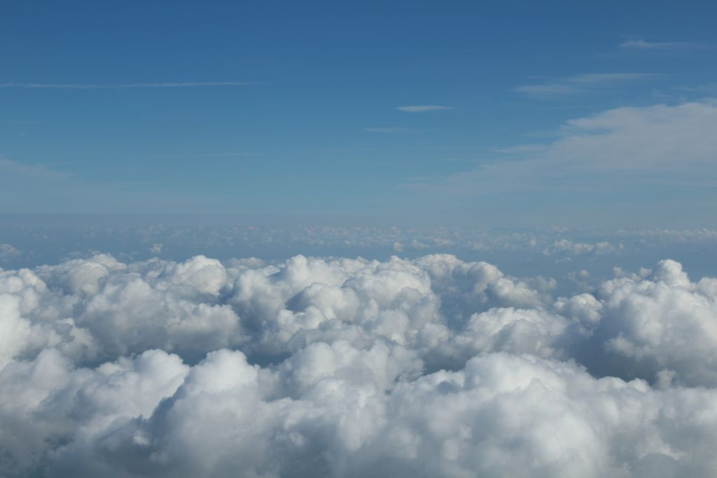 Clouds over Germany