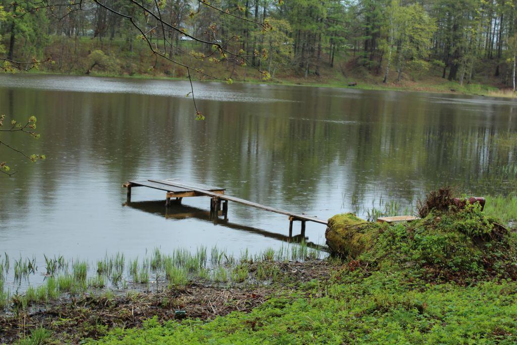 Footbridge on Kazdanga Mill Lake