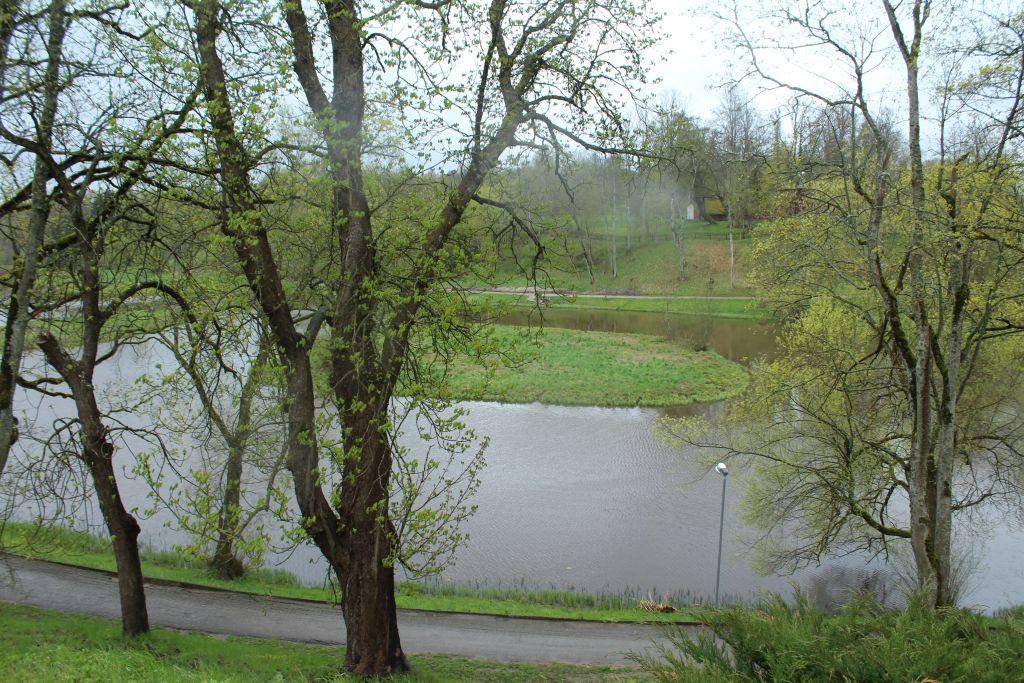 River Tebra near Aizpute church