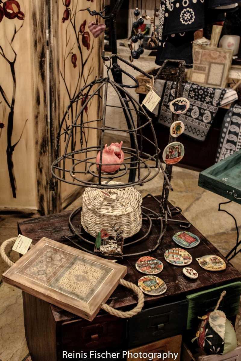 At Estia handmade art boutique shop in Tbilisi