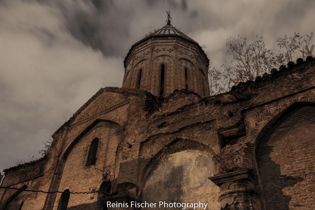 Abandoned Surb Nshan Armenian Church in Tbilisi