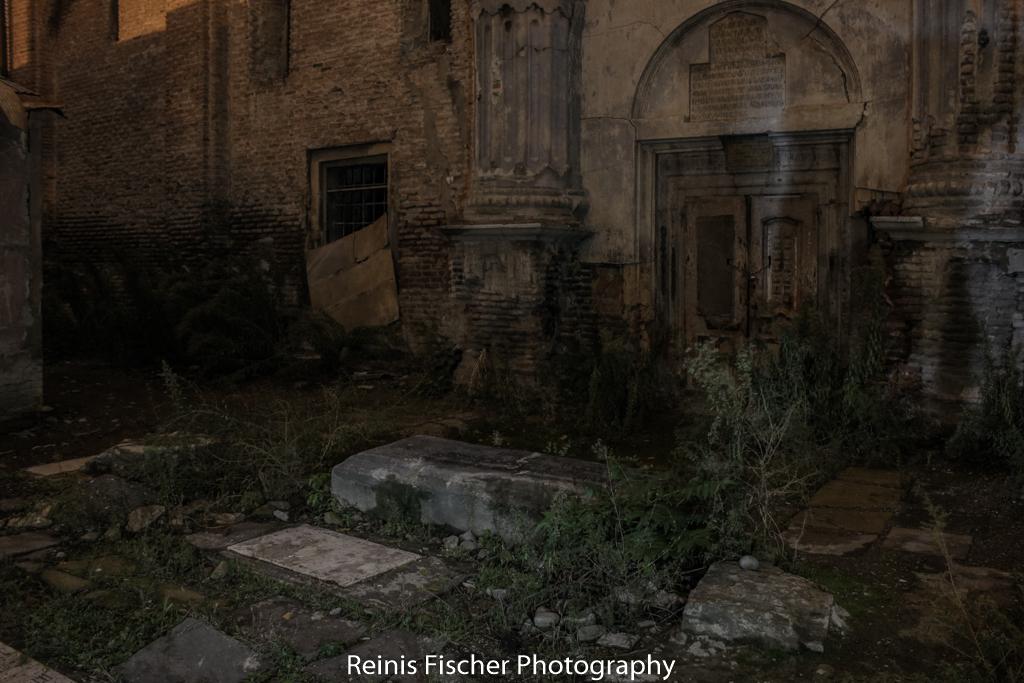 Crypt neat church