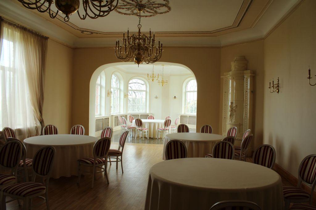 Ballroom inside Dairy Manor