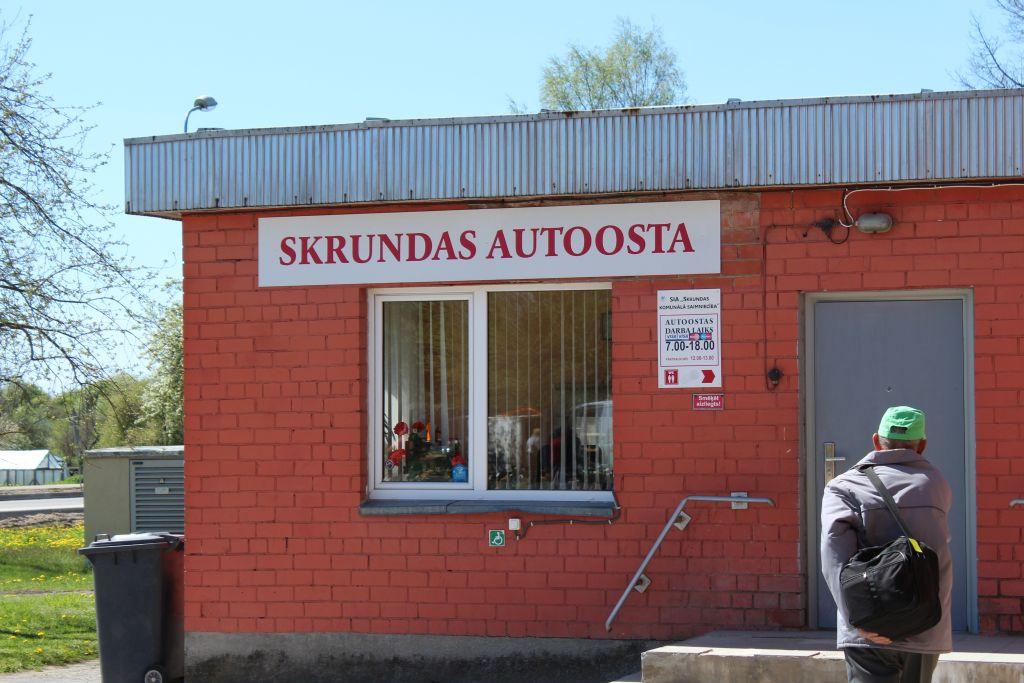Skrunda bus station