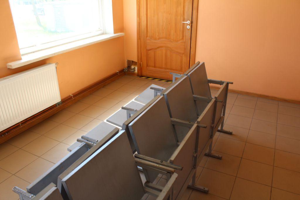 Waiting room at Skrunda Bus Station