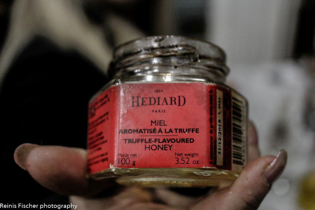 Truffle flavored honey