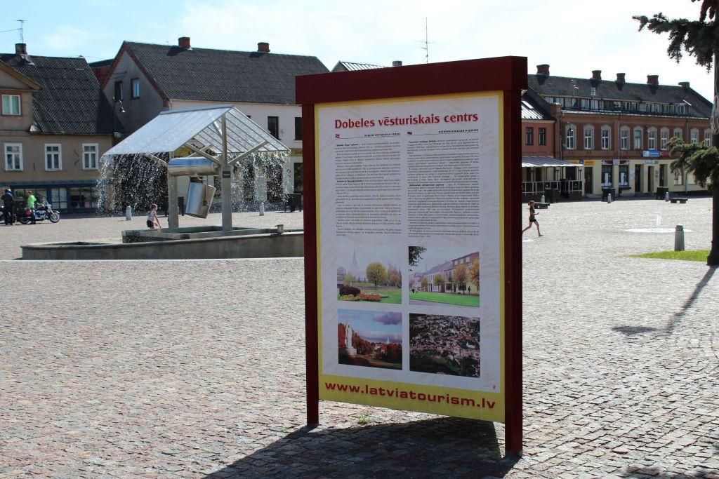 Historical centre of Dobele