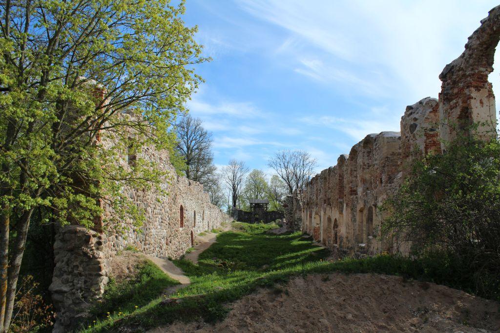 Fortification walls of Dobele Castle