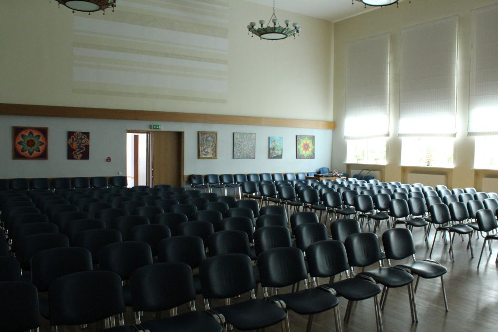 Conference hall at Skrunda Cultural center
