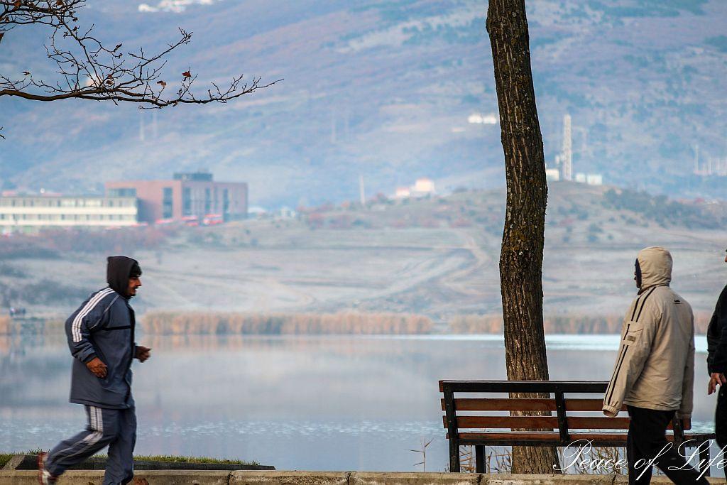 Recreational activities at Lisi lake
