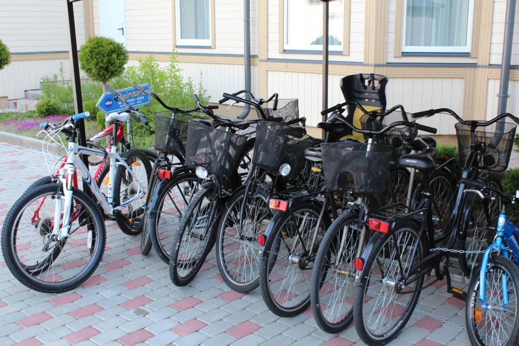 Bike rental at hotel Dzintars