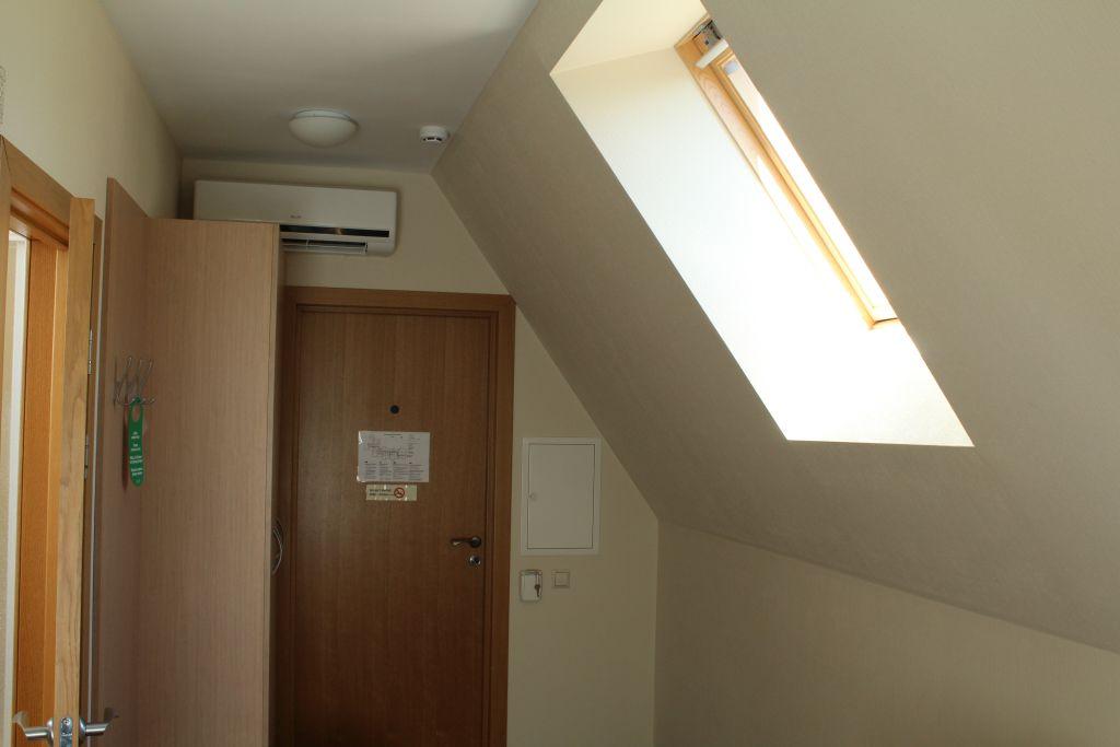 Mansard room at hotel Dzintars