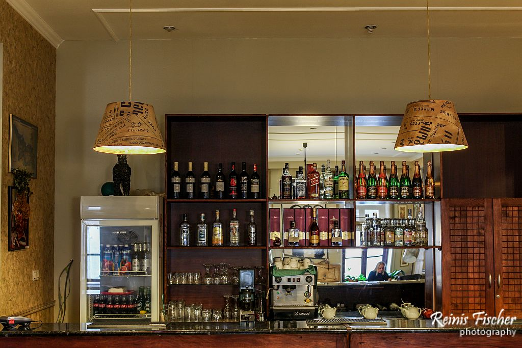 Wide selection of alcoholic beverages