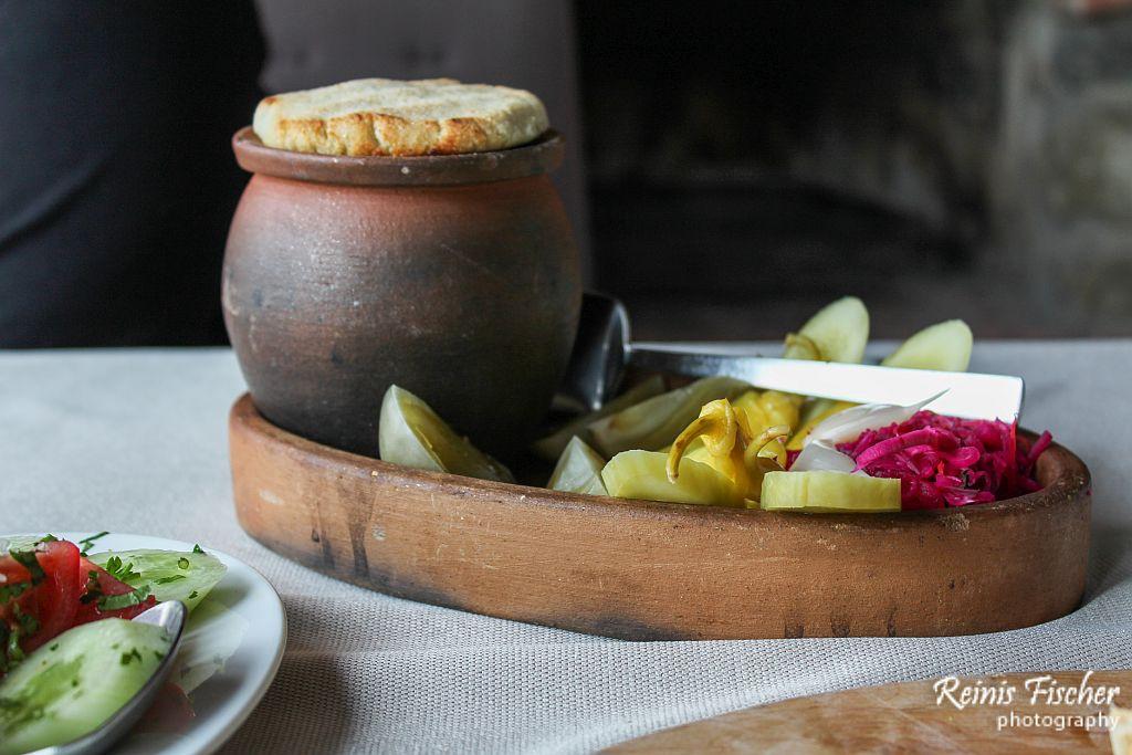 Lobio in the pot
