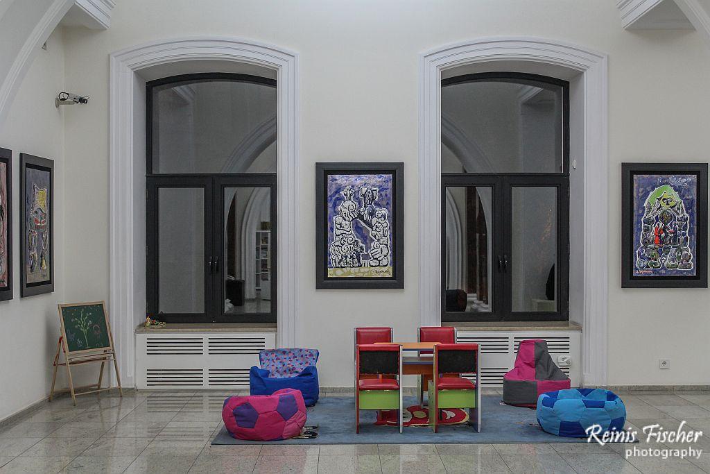 Kids corner at Tbilisi's MOMA