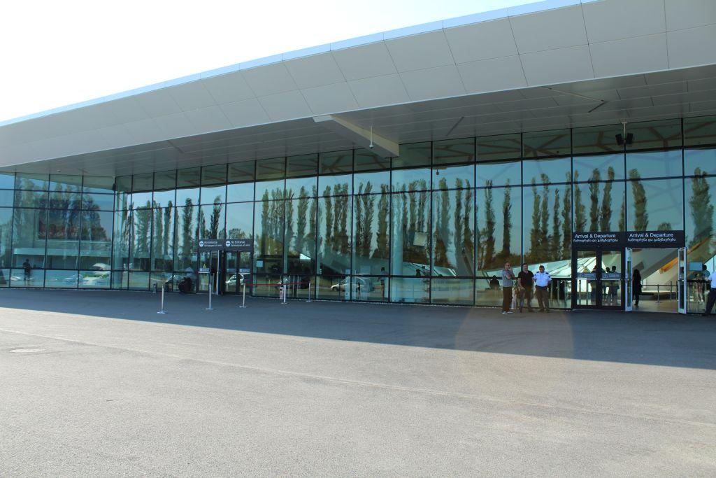 Kutaisi airport Terminal building