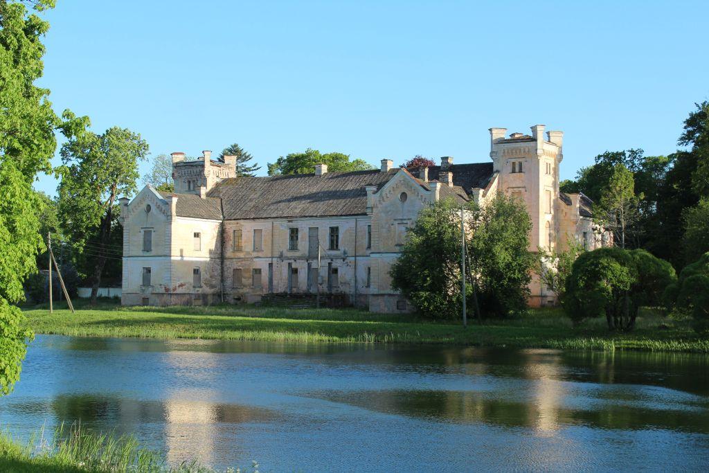Cirava manor complex in Latvia