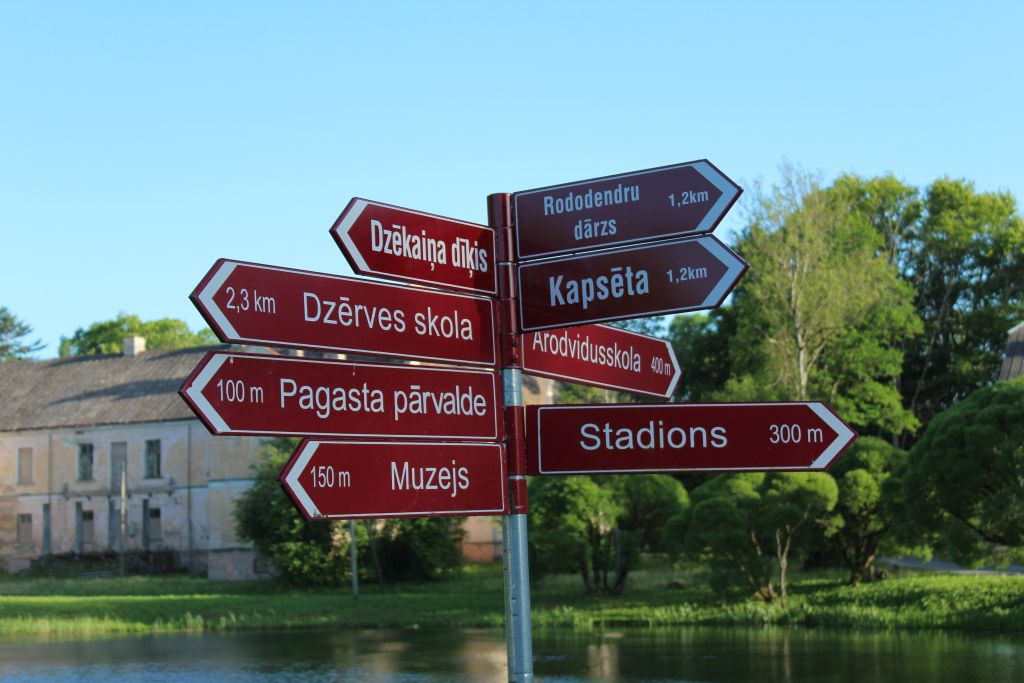 Tourism indication in Cirava