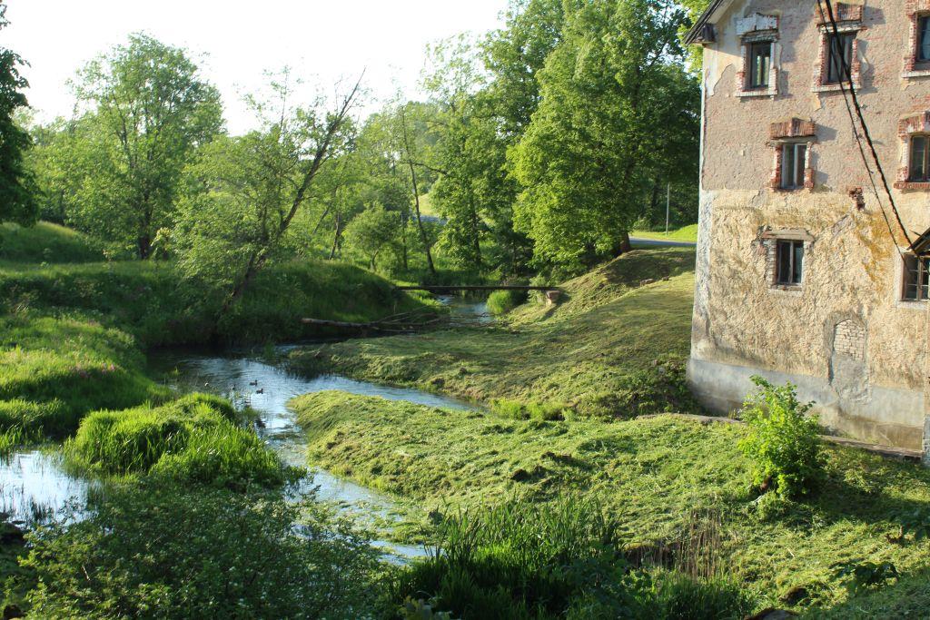 Small river in Cirava