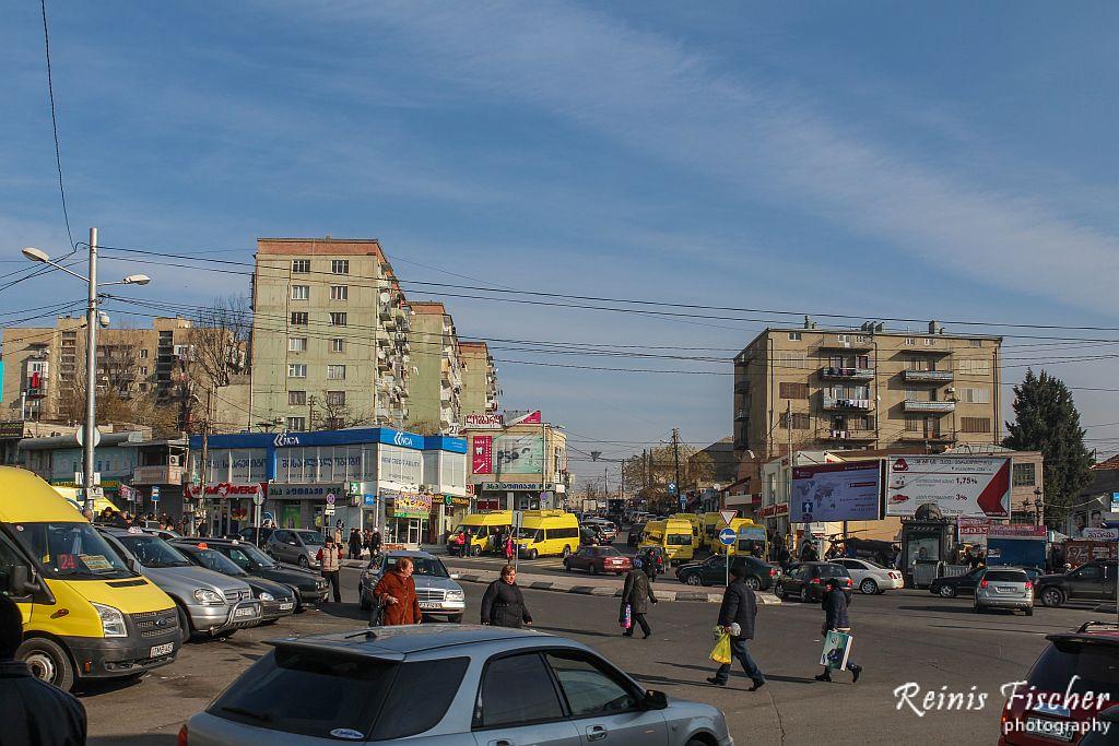 Varketili neighborhood in Tbilisi