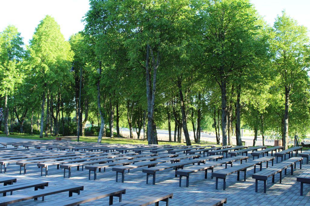 Skrunda Open air stage