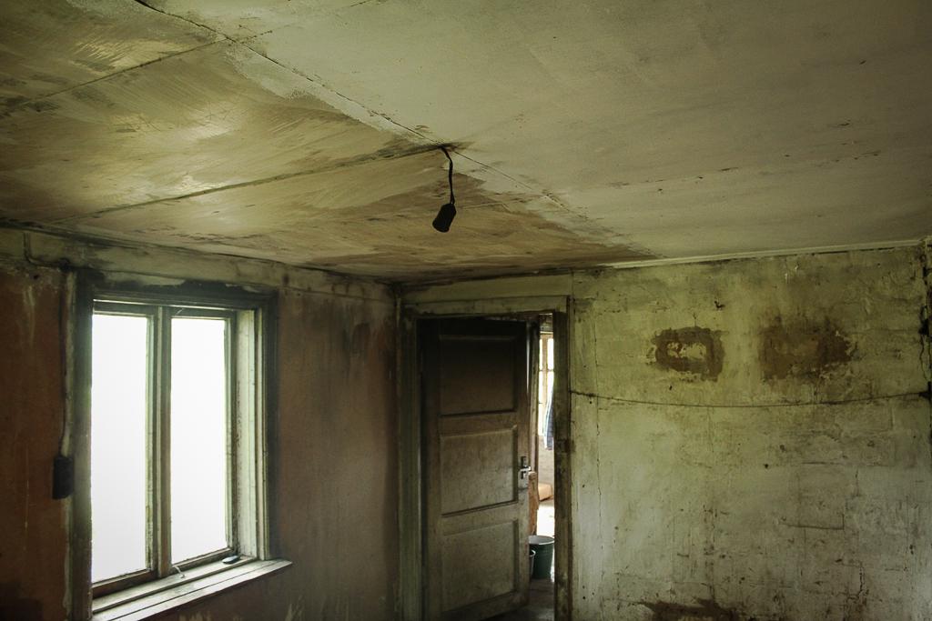 Half ceilings painted