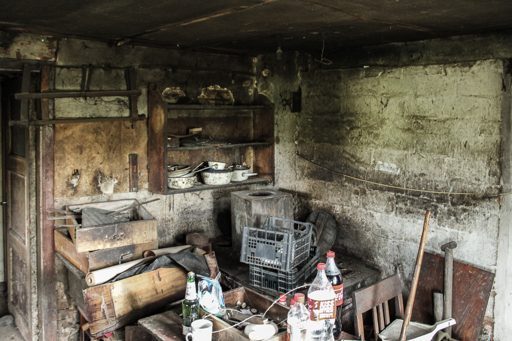 There is a stove actually