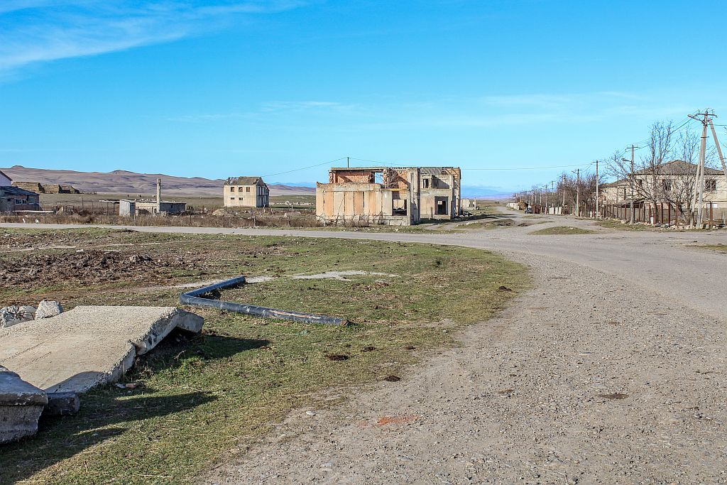 Udabno village in Georgia