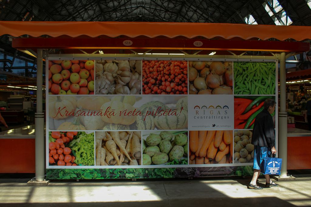 Riga Central Market - The most colorful place in the city
