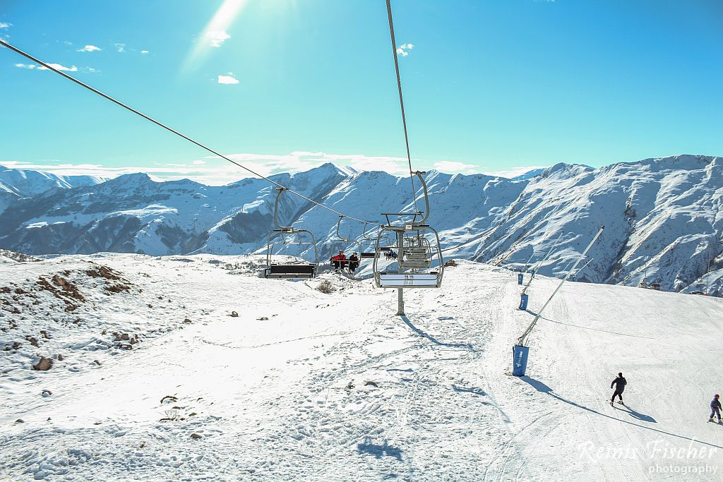 Ski lifts in Gudauri