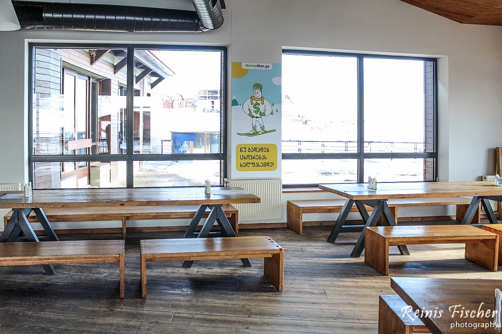 Interior at cafe bar Gradusi