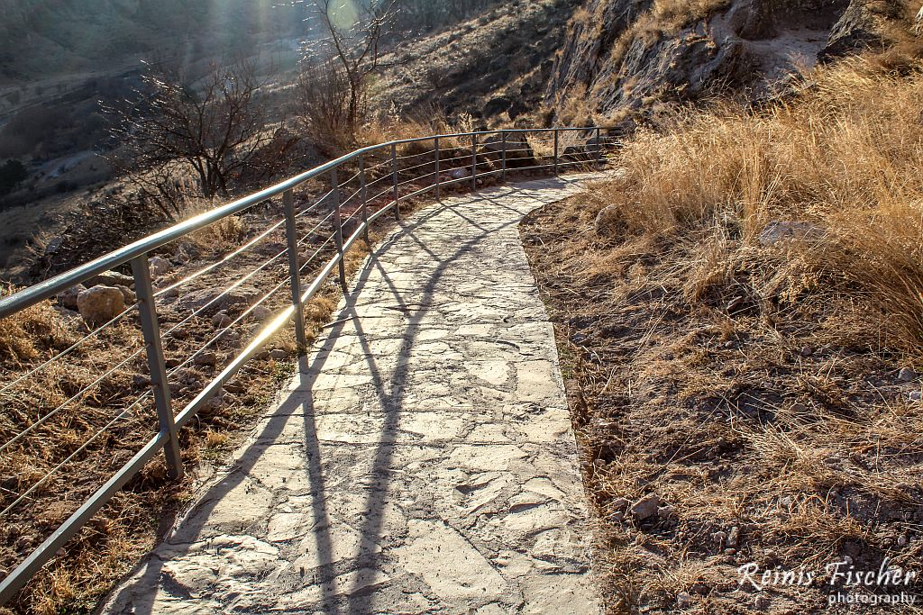 Trails at Vardzia cave town