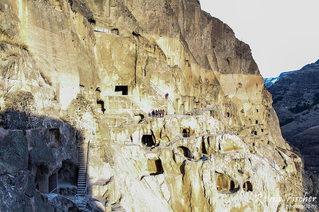 Vardzia Cave town monastery complex