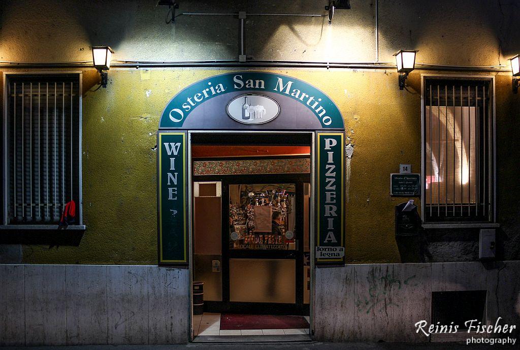 Osteria San Martino in Ferno, Italy
