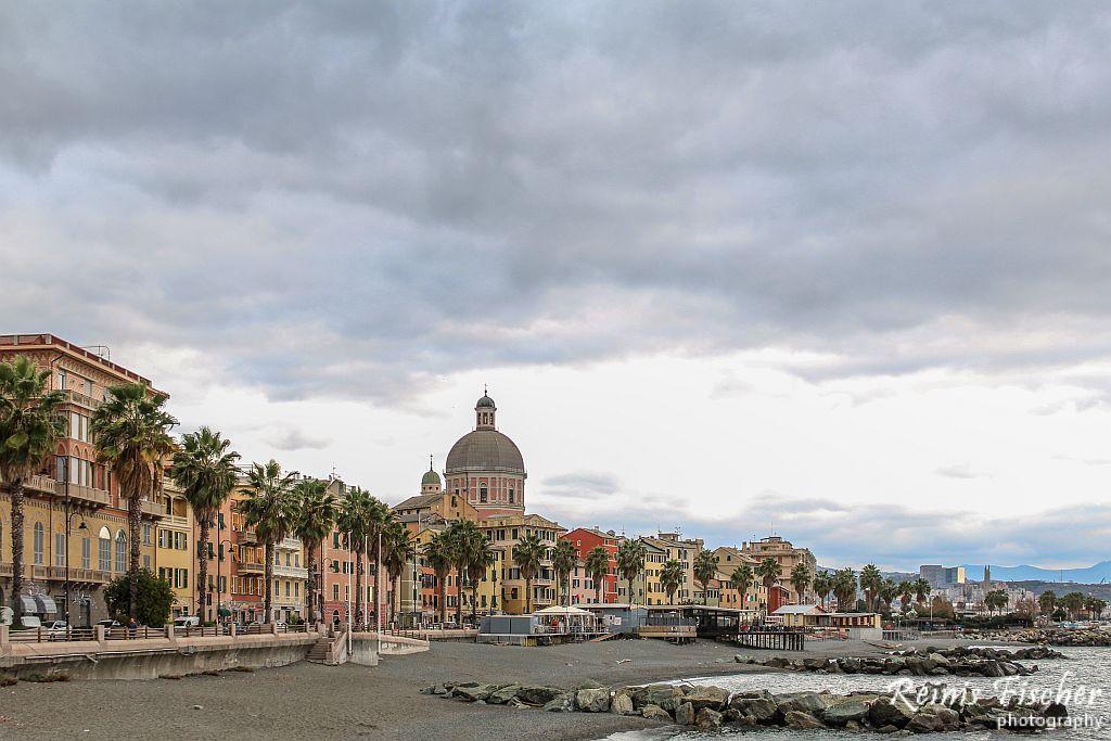Lovely Italian coastal town