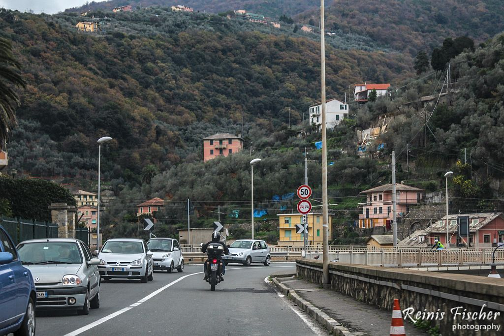 Traffic in Italy