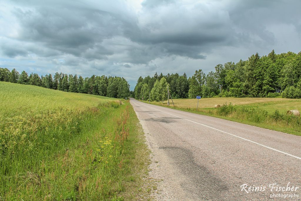 P117 - Skrunda - Aizpute road