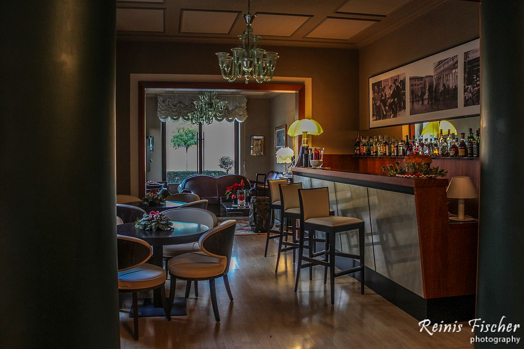 Restaurant at Albergo Celide