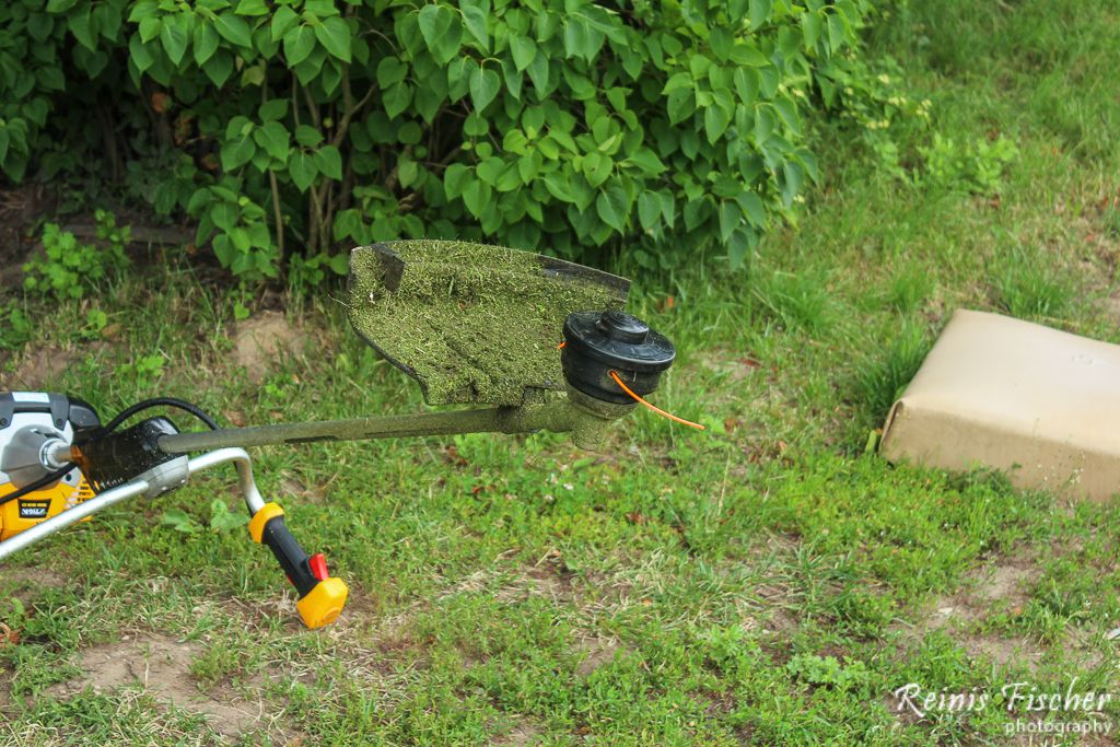 String head for trimmer